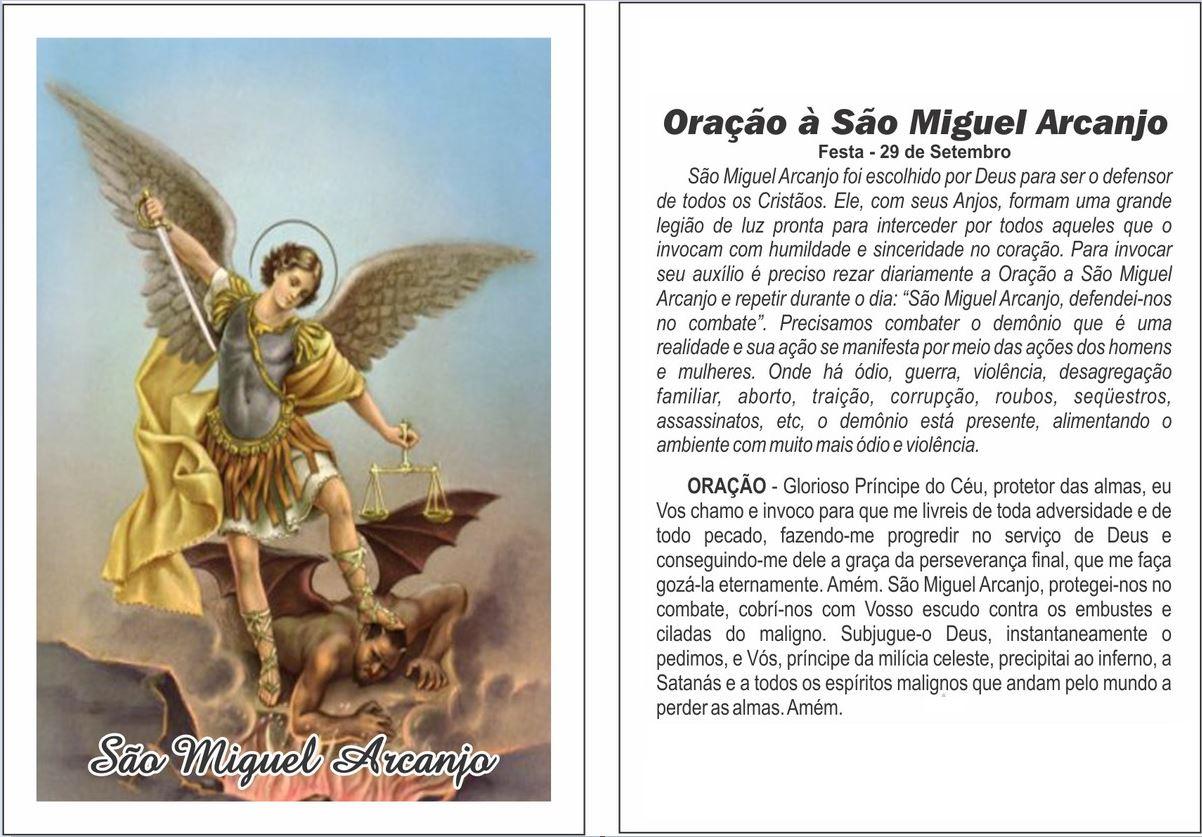 Excepcional SÃO MIGUEL ARCANJO: Oração, História, Novena, Dia de São Miguel HO21