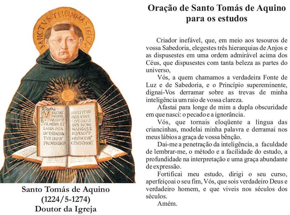 São Tomás De Aquino Filosofia Frases História Livros Confira Aqui