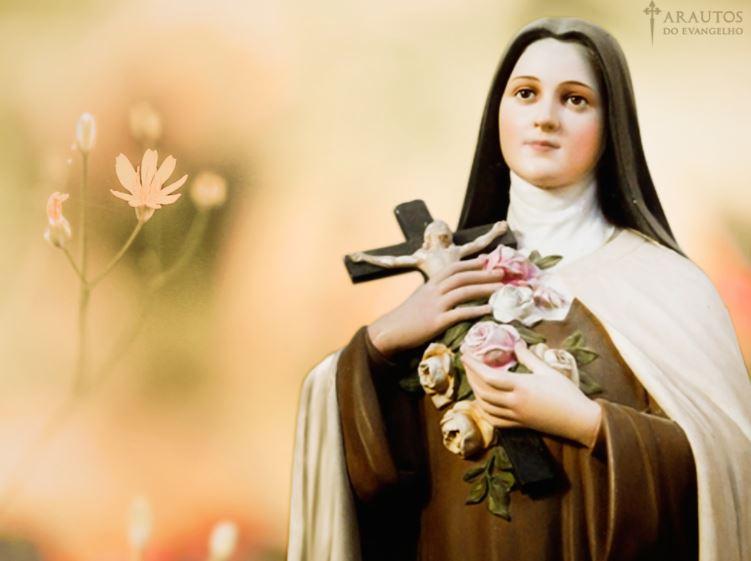 Santa Terezinha Oração Frases Dia Da Santa Terezinha