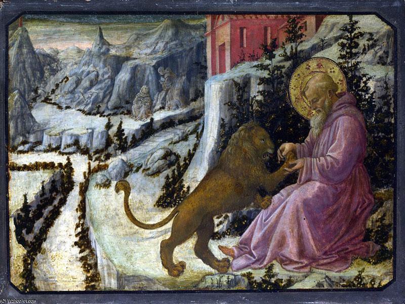 São Jerónimo e o Leão, Fra Filippo Lippi