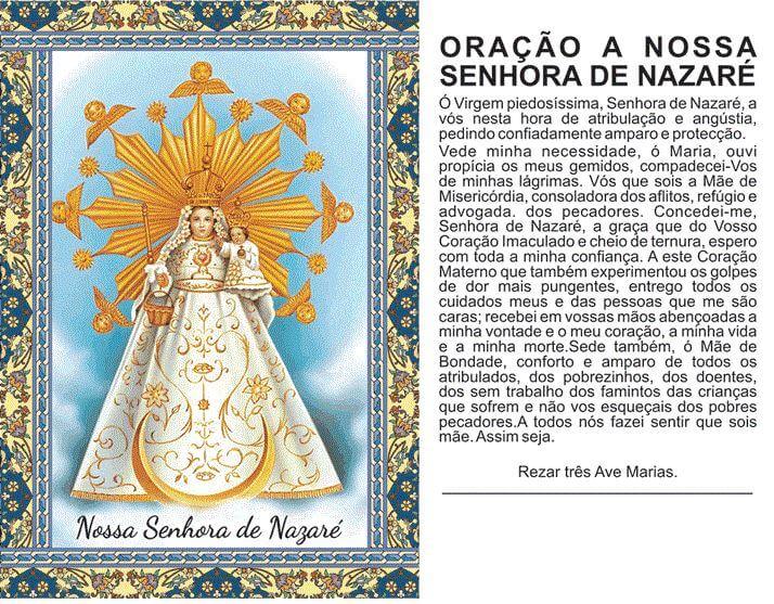 Oração a Nazaré