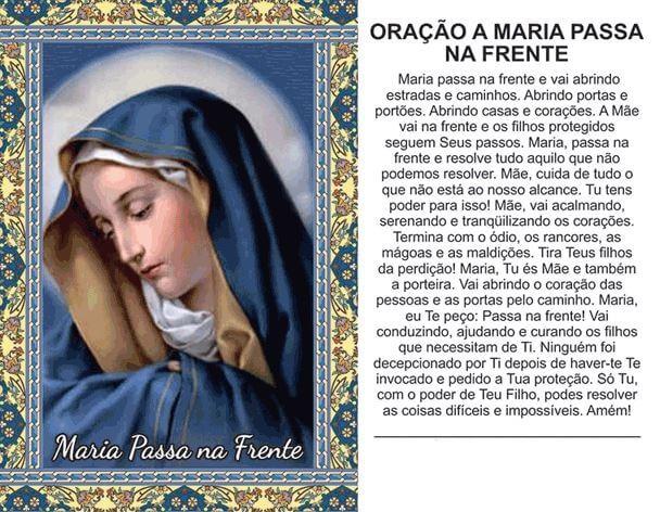 Oração Virgem Maria