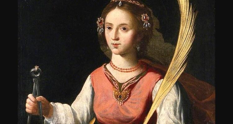 História de Santa Apolônia